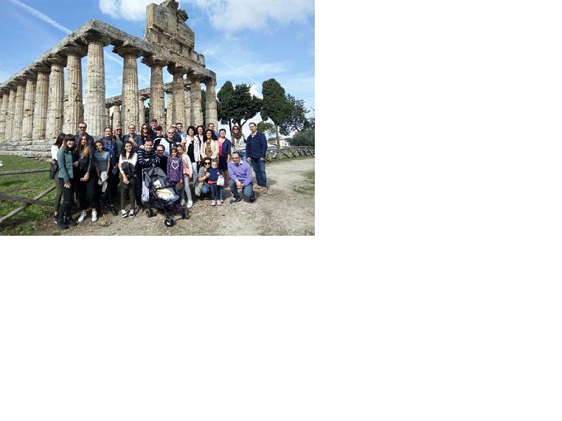 Conviviale scavi Paestum