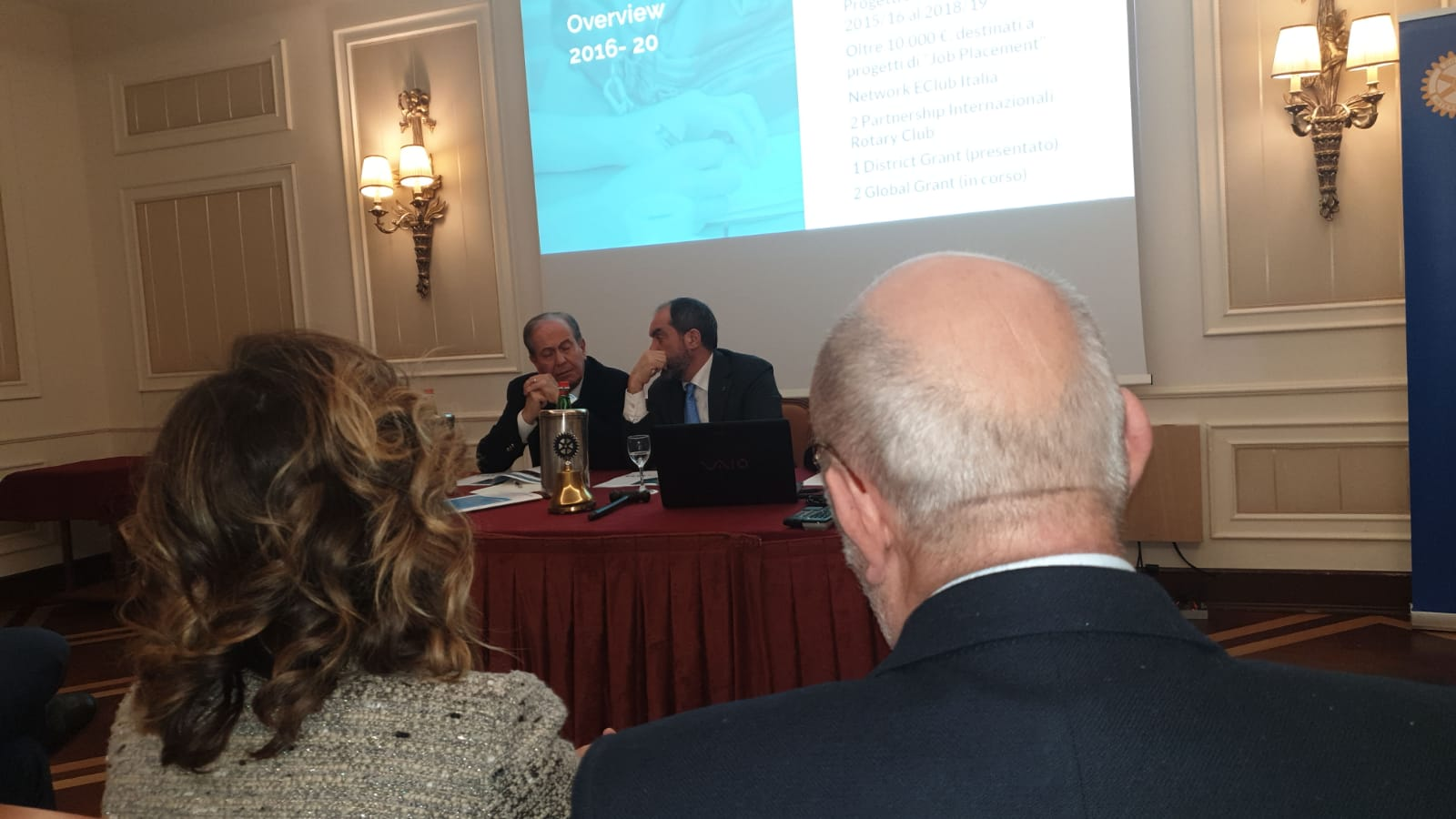 Visita del Governatore Dott. Pasquale Verre